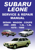 Subaru Leone Workshop Manual