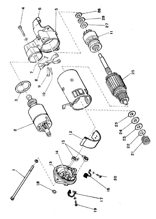 Subaru 360 Truck & Van Spare Parts Catalogue - sample of exploded views