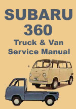 Subaru 360 Van and Pick Up Workshop Manual